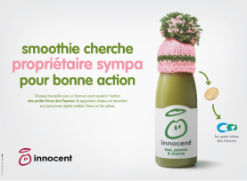 Mets ton bonnet, Innocent Smoothie